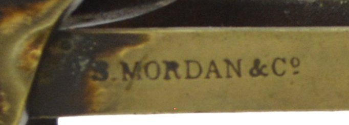 ANTIQUE S. MORDAN LONDON POSTAL SCALE & WEIGHTS - 4