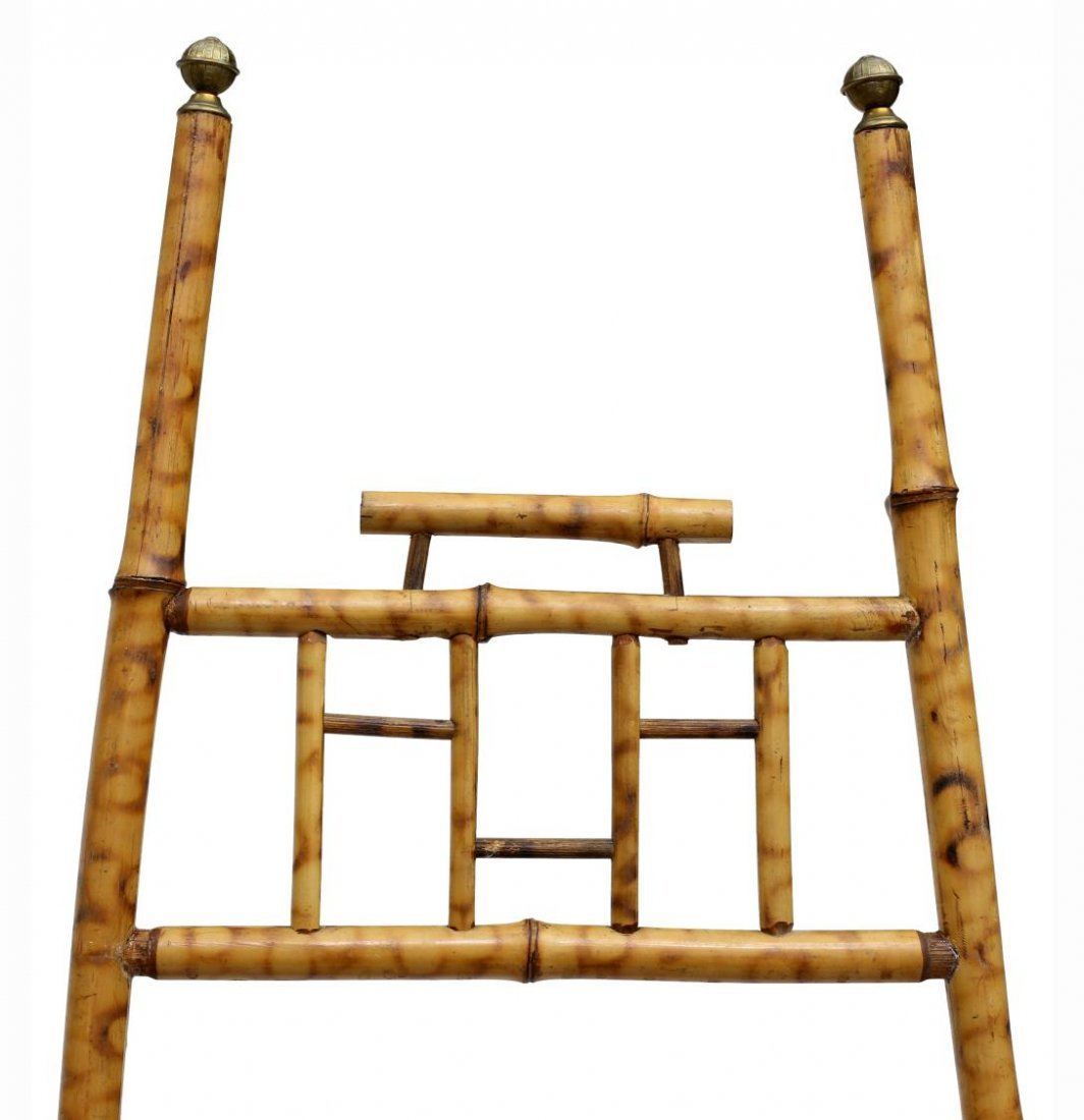 (2) VICTORIAN BAMBOO EASELS - 2