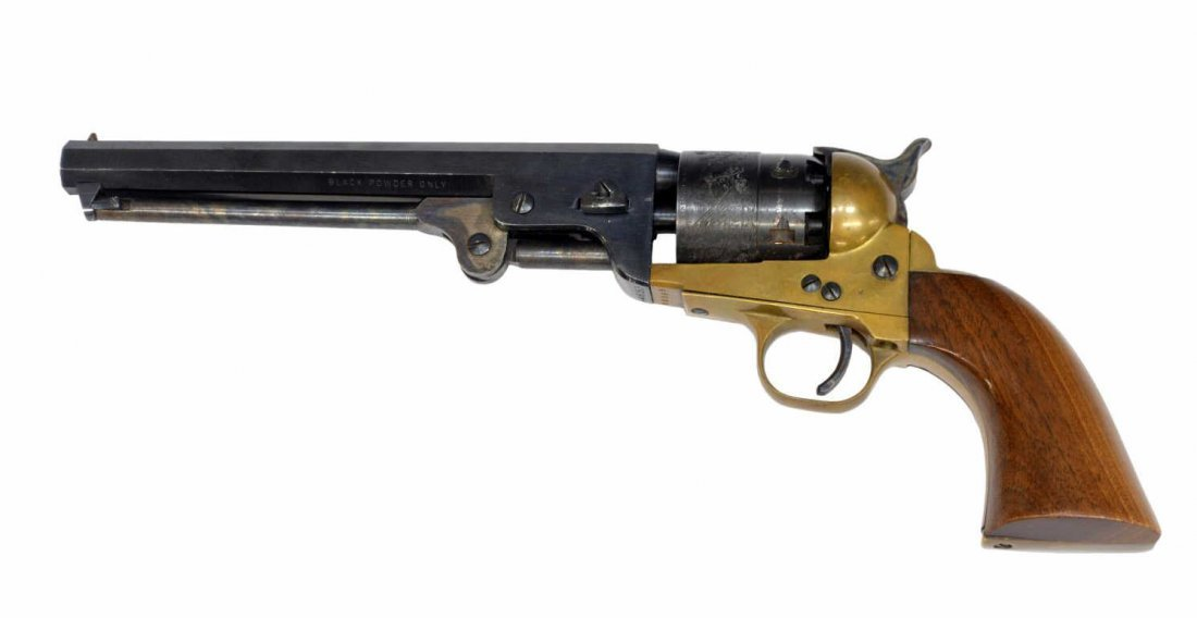 ITALIAN BLACKPOWDER COLT 1851 NAVY REVOLVER