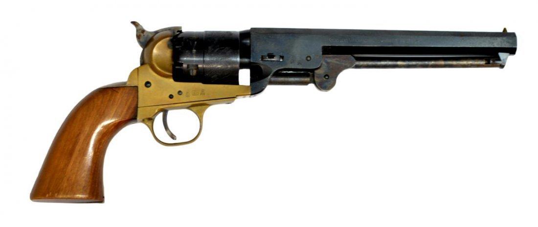 ITALIAN BLACKPOWDER COLT 1851 NAVY REVOLVER - 2