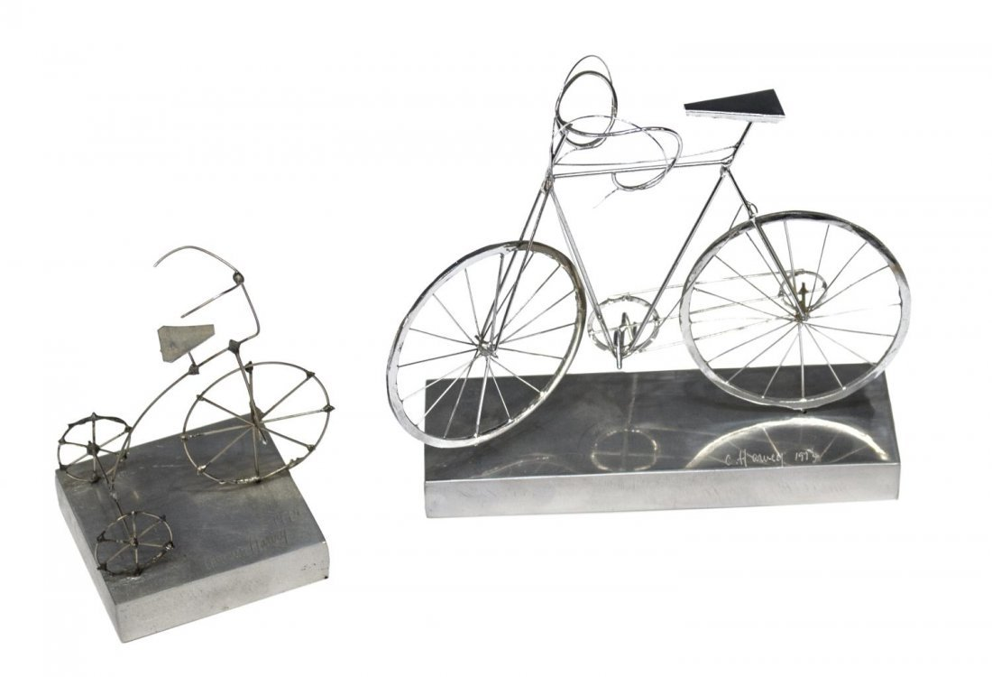 COLLECTION CYCLING & BICYCLE GLASSES & SCULPUTRE - 2