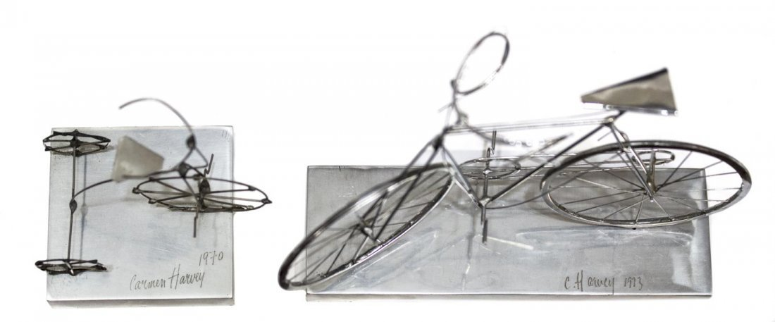 COLLECTION CYCLING & BICYCLE GLASSES & SCULPUTRE - 3