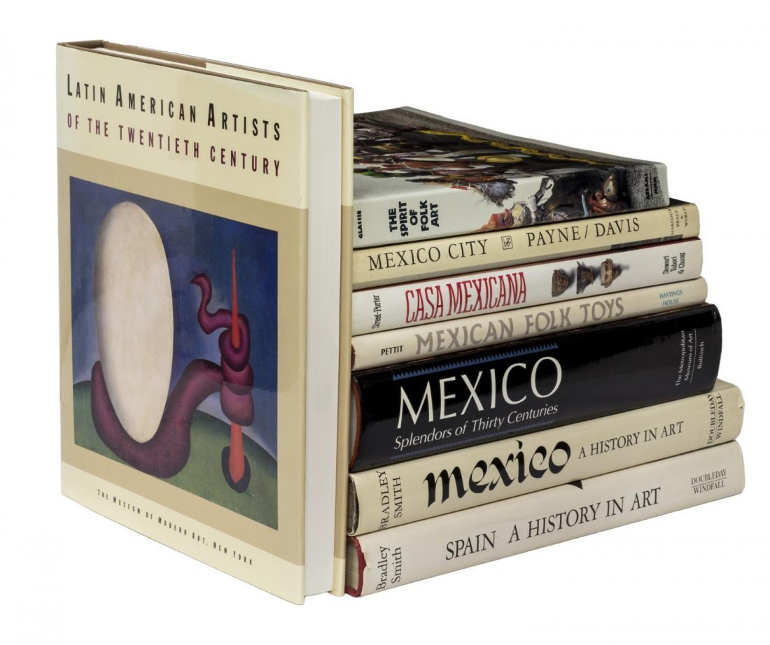 (LOT) COLLECTION MEXICAN & TEXAS FOLK ART BOOKS - 3