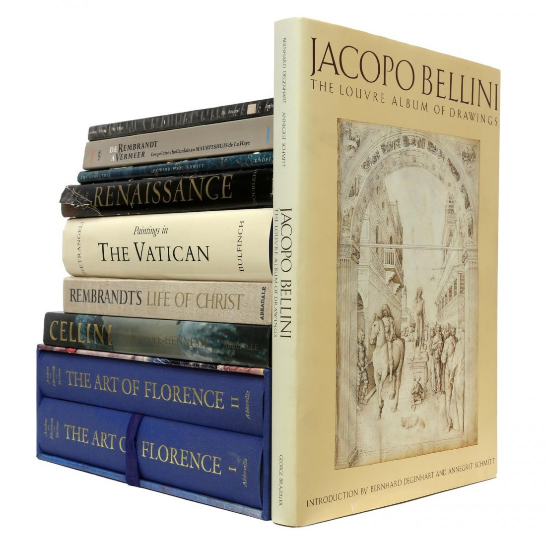 (LOT) RENAISSANCE ART RELATED COFFEE TABLE BOOKS