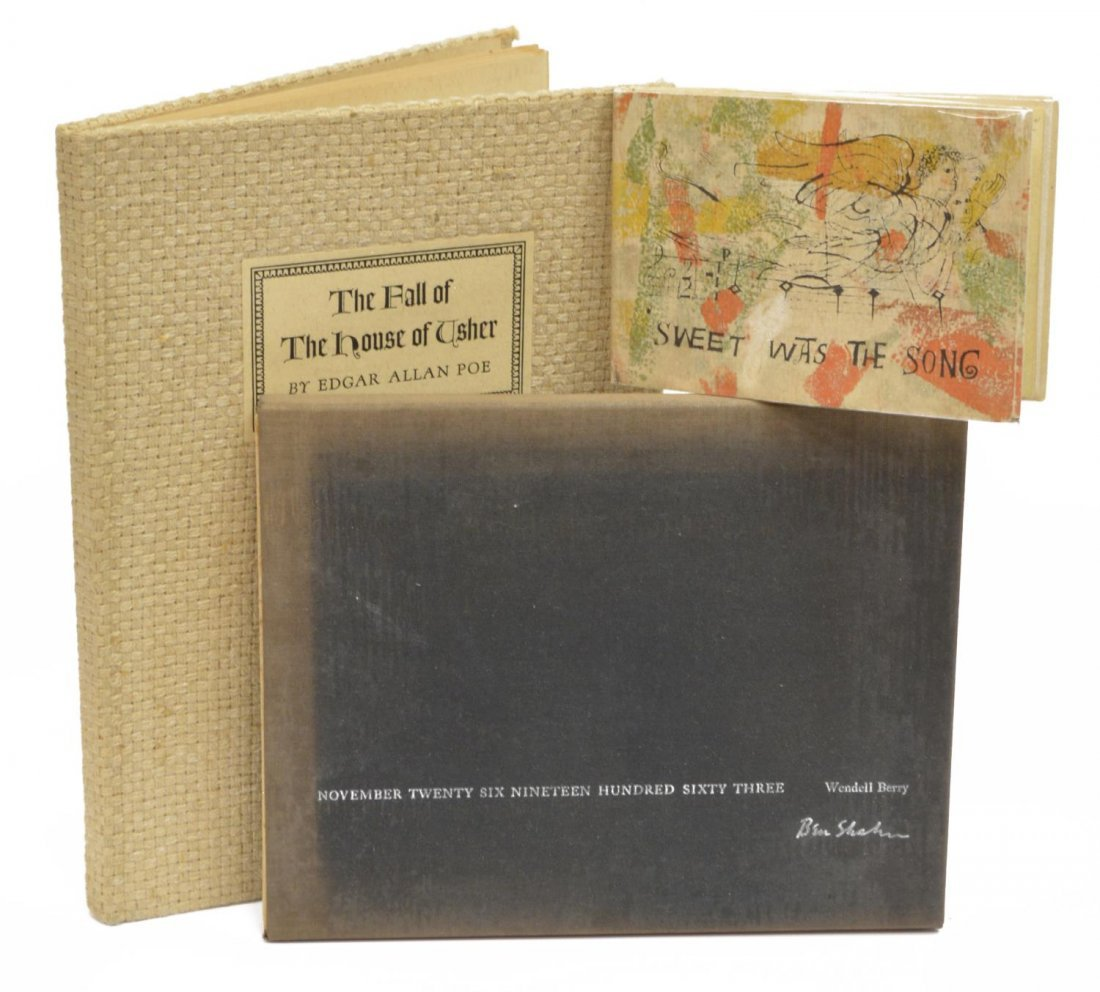 (3) BEN SHAHN & ABNER EPSTEIN ILLUSTRATED BOOKS