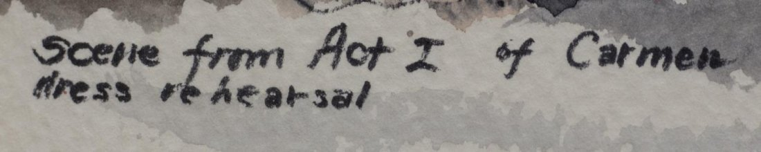 (4) ACRYLIC FRAMED WATERCOLOR PAINTINGS, AUSTIN TX - 8