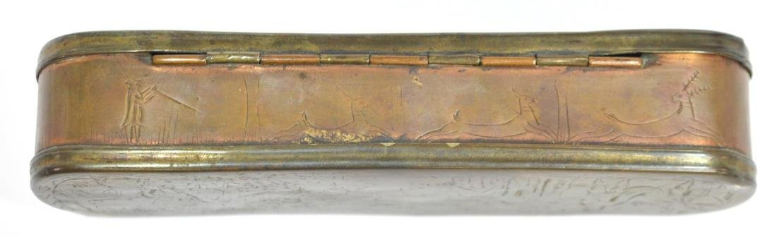 (2)18TH /1 9TH C. DUTCH & ENGLISH TOBACCO BOXES - 5
