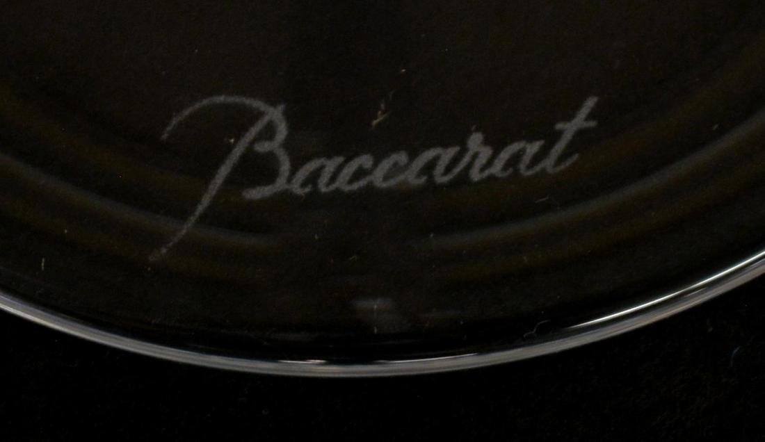 (13) BACCARAT COLORLESS CRYSTAL CHAMPAGNE FLUTES - 4