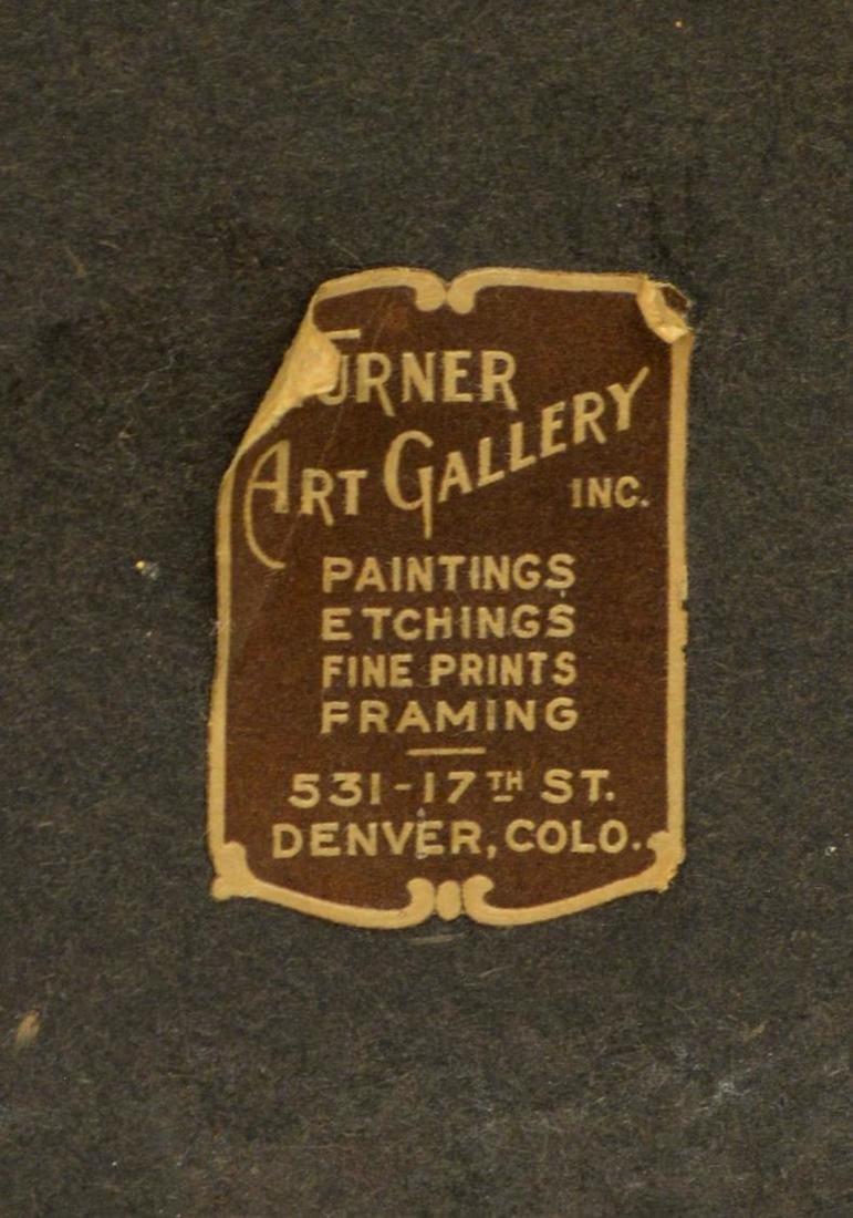 HENRY L. RICHTER (1870-1960), WINTER WATERCOLOR - 4