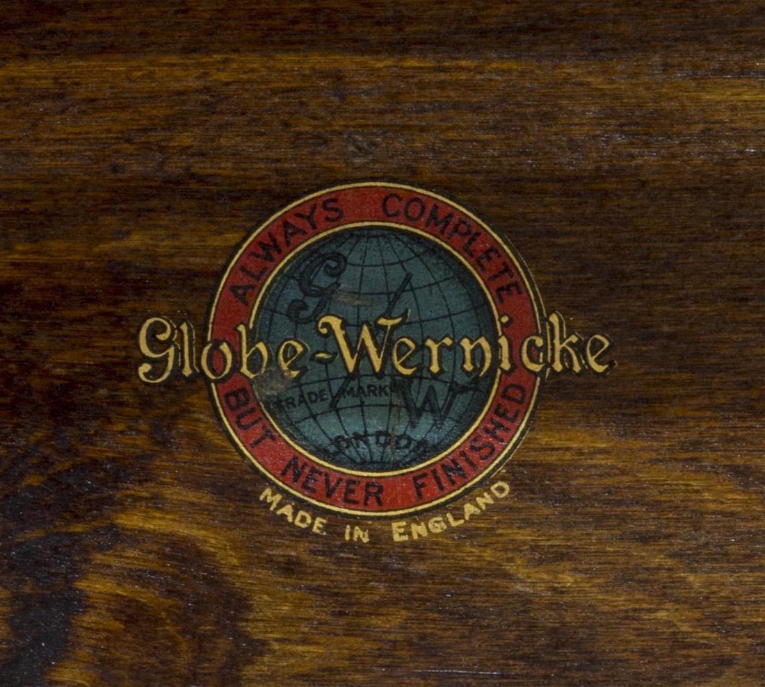 GLOBE WERNICKE MAHOGANY LAWYERS STACKING BOOKCASE - 4