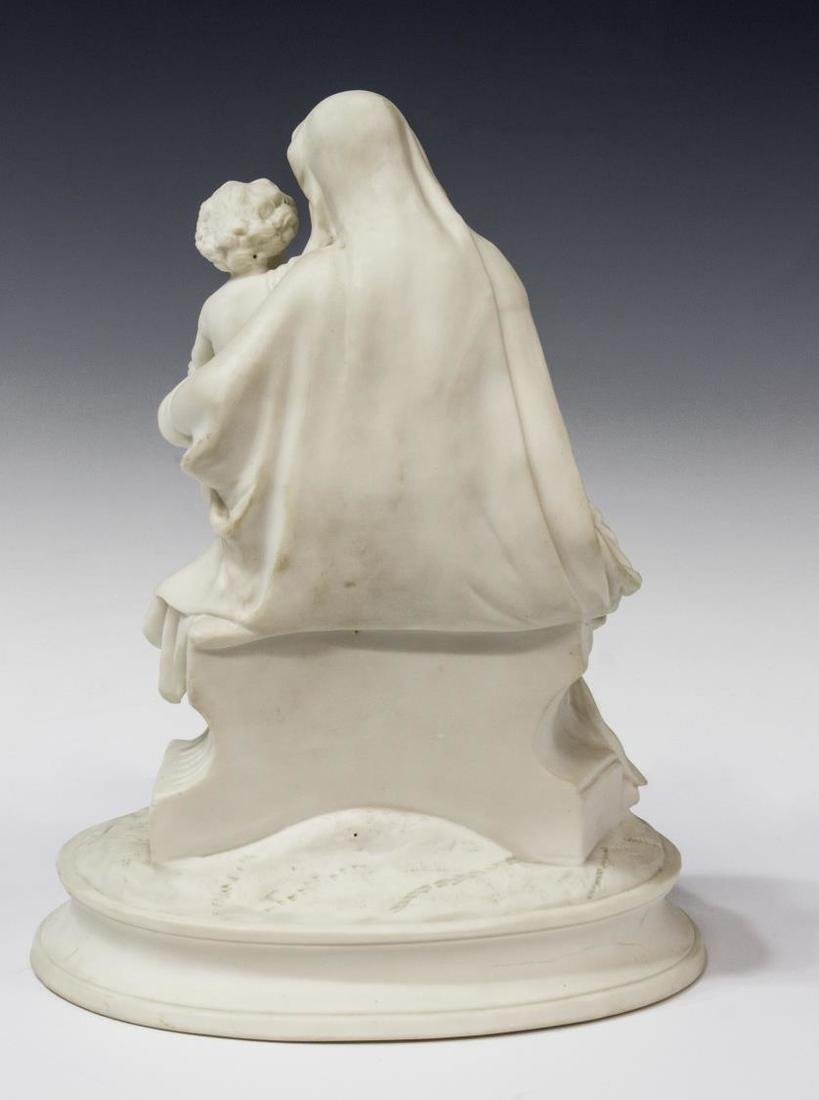 PARIAN SCULPTURE, THE VIRGIN AND THE CHRIST CHILD - 3