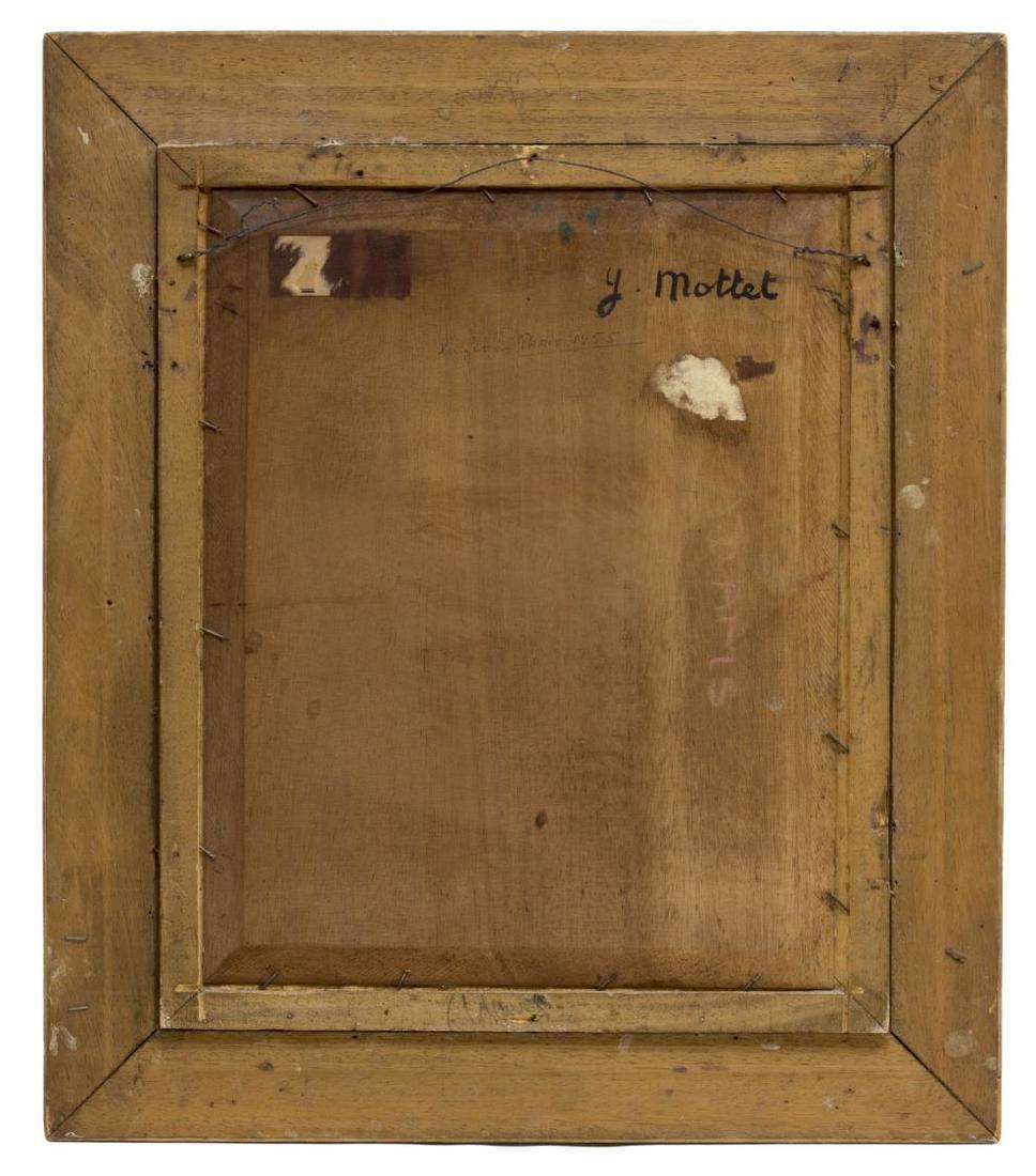 YVONNE MOTTET (1906-1968) OIL/BOARD STILL LIFE - 5