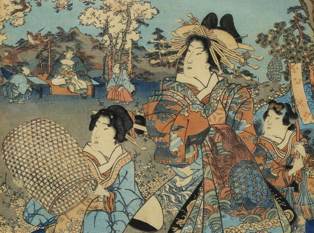 AFTER UTAGAWA KUNISADA II (JAPANESE 1823-1880) - 3