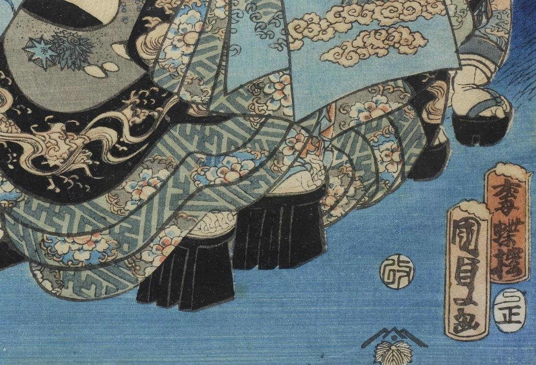 AFTER UTAGAWA KUNISADA II (JAPANESE 1823-1880) - 5
