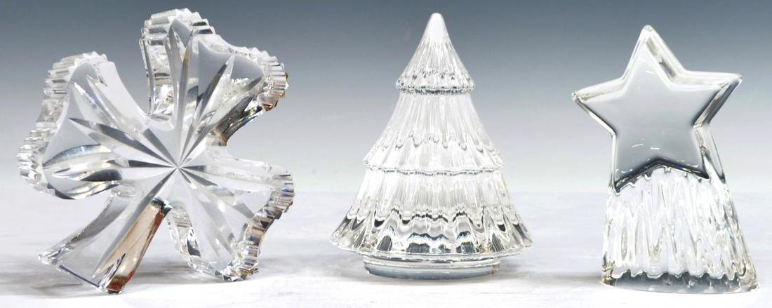 (7) STEUBEN, WATERFORD LALIQUE & FINNISH CRYSTAL ITEMS - 3