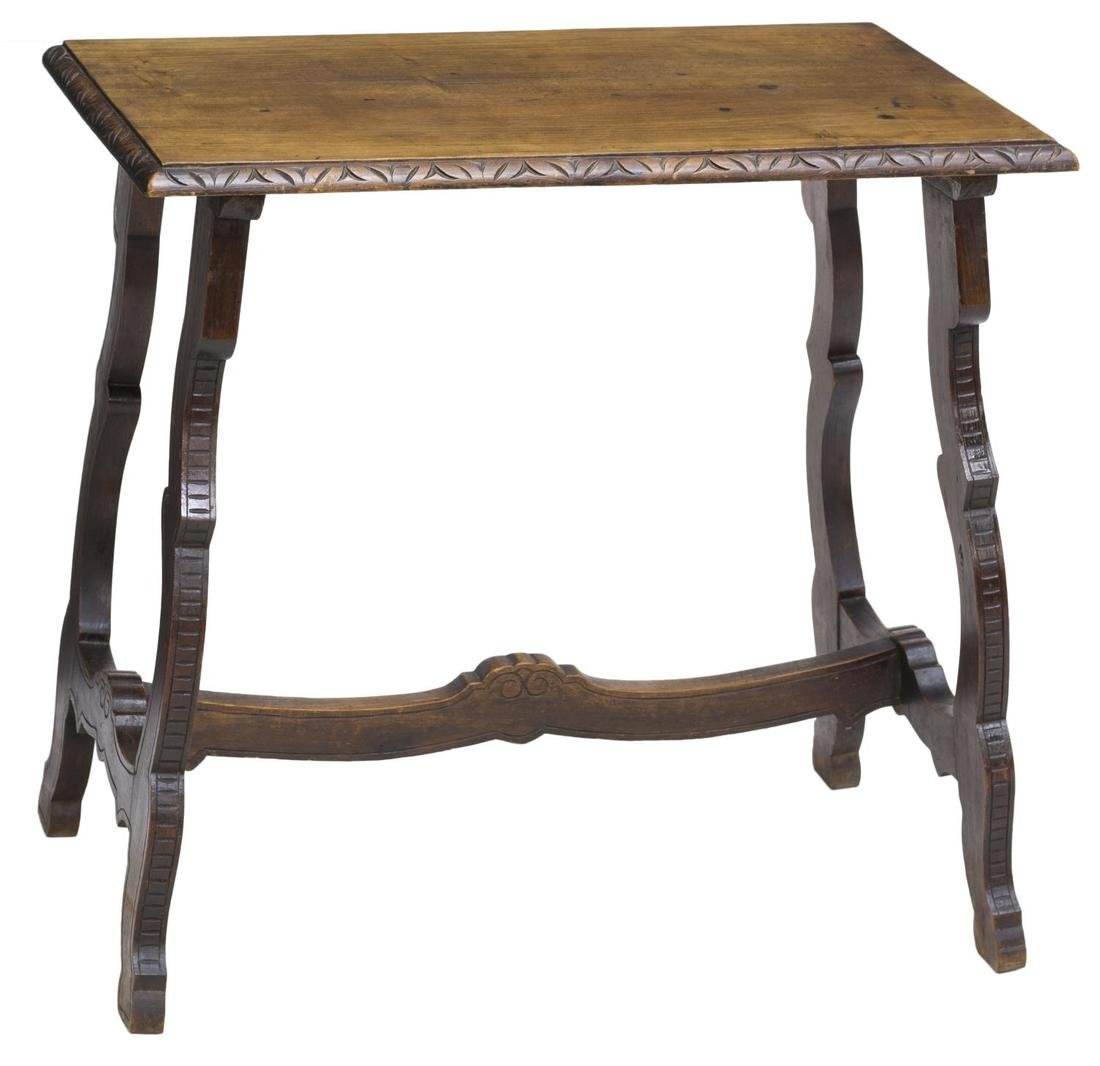SPANISH SIDE TABLE, 19TH C.