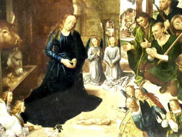 400: VINTAGE RELIGIOUS TRIPTYCH WONDERFUL FRAME