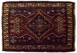 HAND TIED PERSIAN WOOL HAMADAN RUG 410 x 311