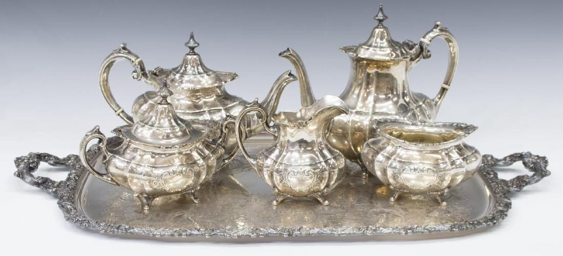 (6) REED & BARTON STERLING SILVER TEA & COFFEE SET