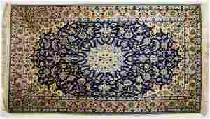 """PERSIAN NAIN HAND TIED WOOL RUG APPROX 6' x 3'10"""""""