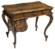 FRENCH LOUIS XV STYLE LADIES DESK, NANCY WORKSHOPS