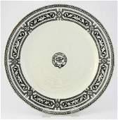 Second Class China Plate, Alton Pattern ex. Bart Malone