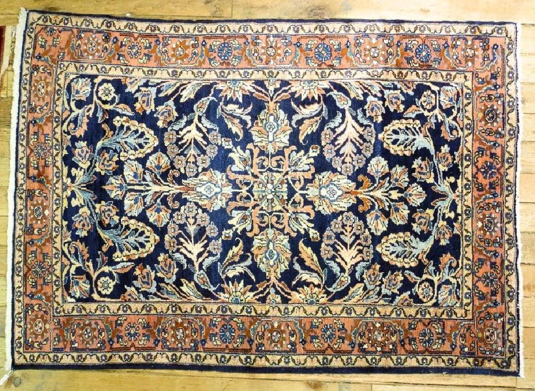 "Lilihan rug approx. 6'11"" x 5'2""."