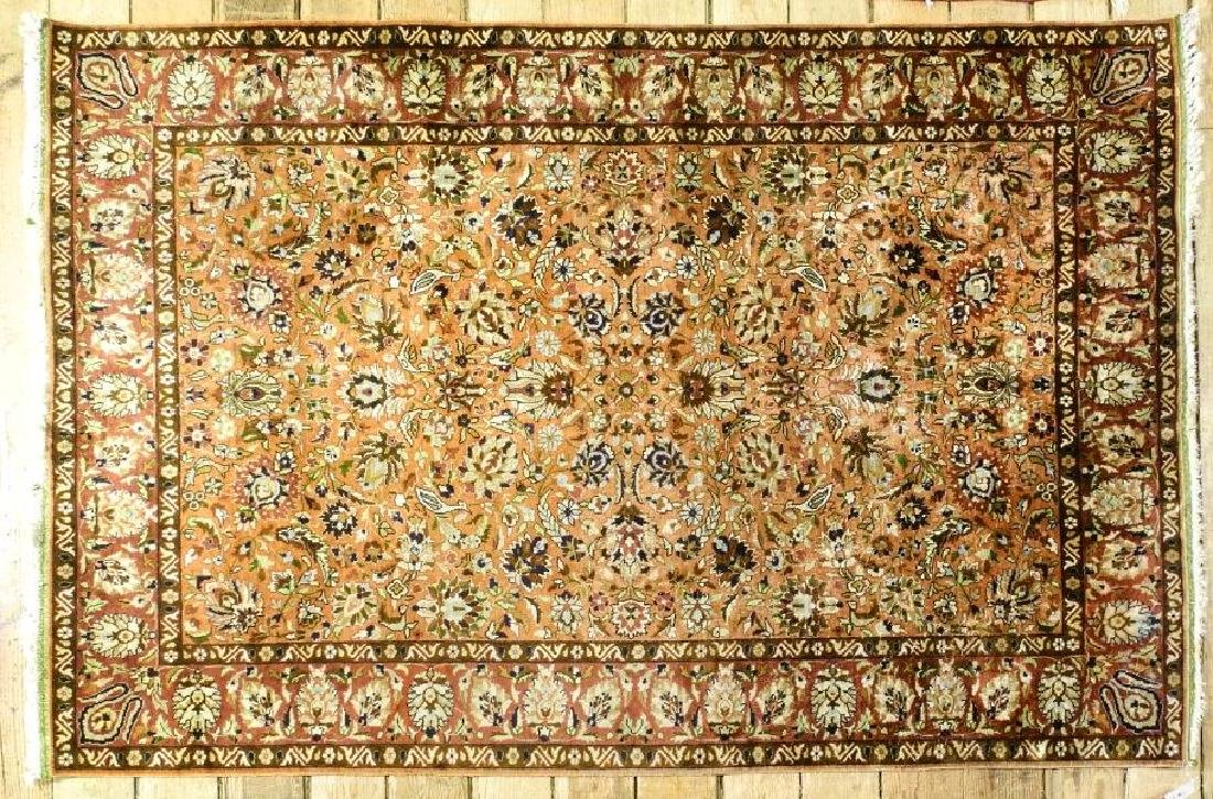 "Asian rug approx. 6'6"" x 2'2""."