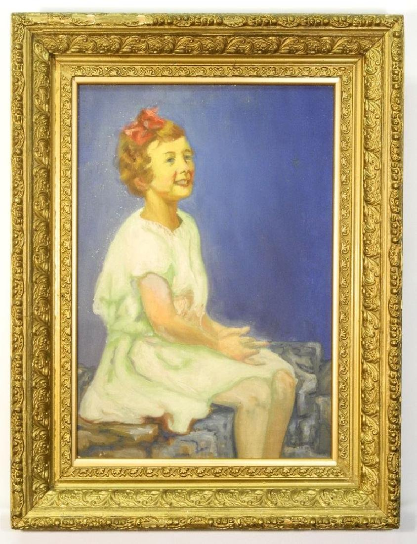 "Oil on canvas signed EH (possibly Holgate), 19 1/2"" x"