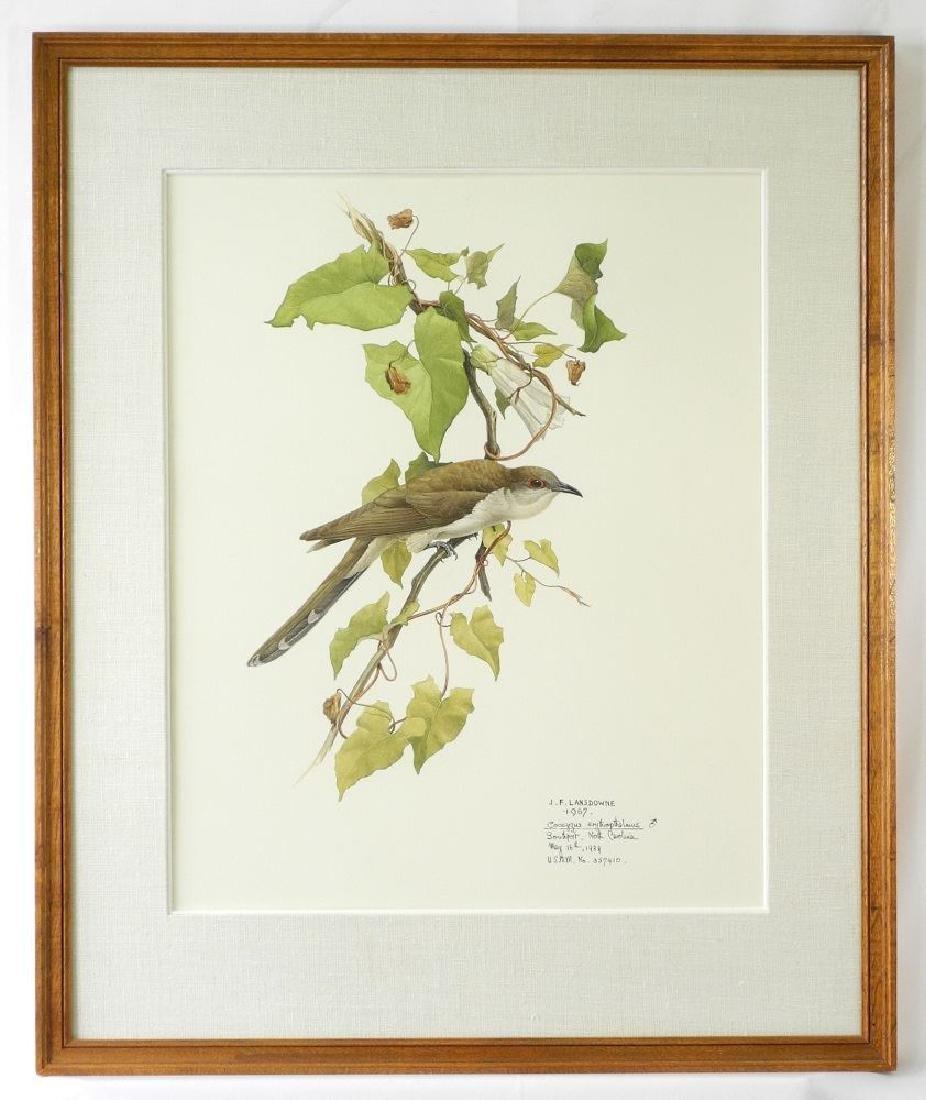 "Watercolour signed J.F.Lansdowne 1967,21"" x"