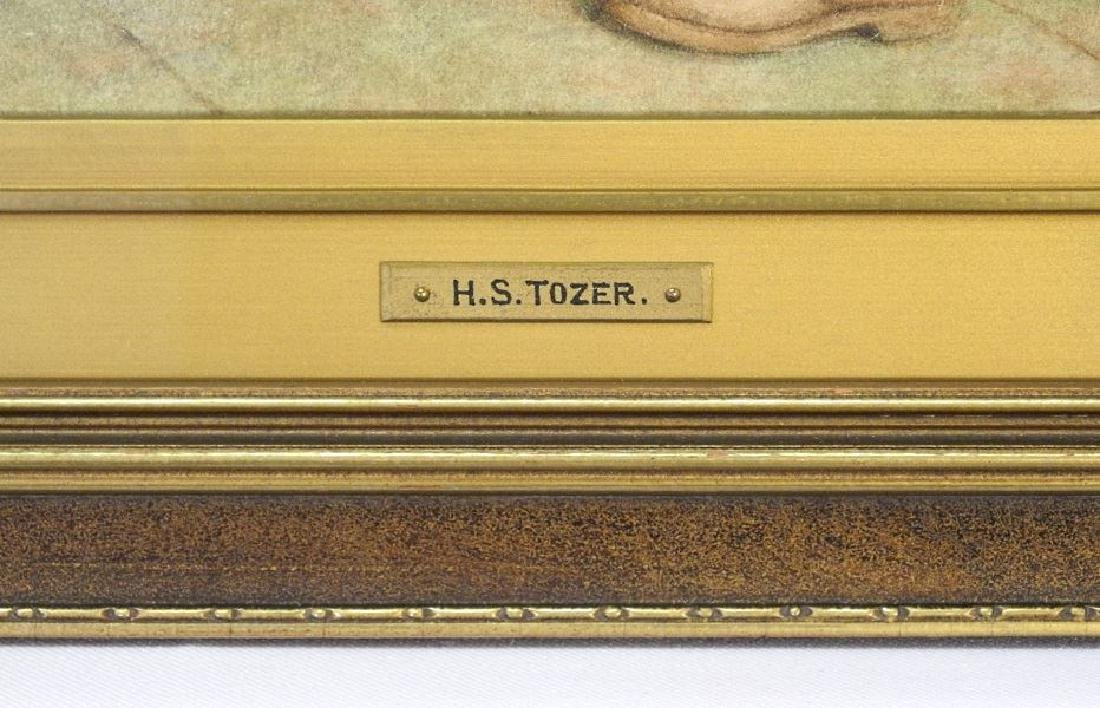 "Watercolour signed H.S.Tozer 1930, 10 1/2"" x 15"", - 7"