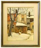 """Oil with lucite on panel signed Kasyn '70 (John), 20"""" x"""