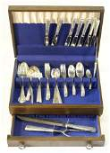 Canteen of Towle Sterling Silver Flatware Candlelight