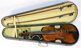 Violin stamped Robert Barth Stuttgart.
