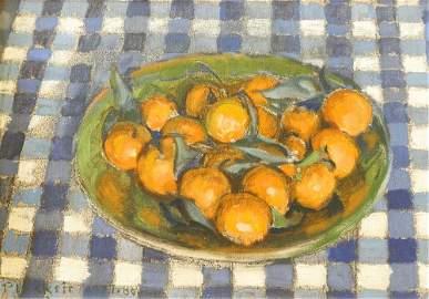 "Oil on Canvas signed (Joseph) Plaskett, 10"" x 14"","