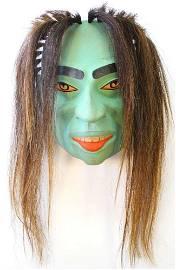 Kwagiulth Mask Signed Stephen Bruce, Albert Bay, BC,