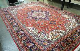 """Handknotted Persian Carpet approximately 13'2"""" x 9'7""""."""