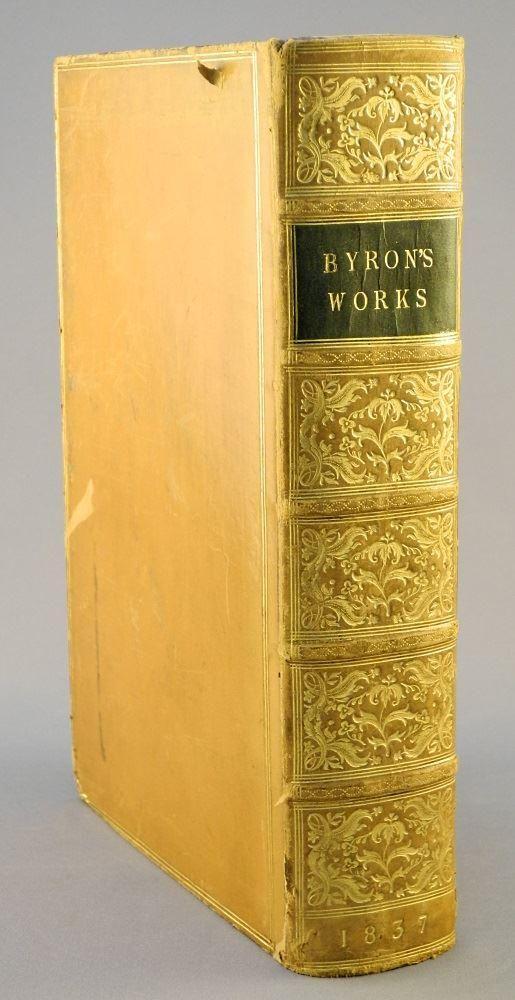 Byron's Works by Lord Byron - John Murray London 1837.