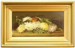 "Oil on Canvas Signed E. Steele '02, 11 1/2"" x 23 1/2"","