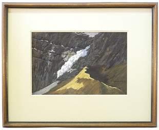"Pastel on Paper Signed (Carl) Coger, 9"" x 13"", ""Sunny"
