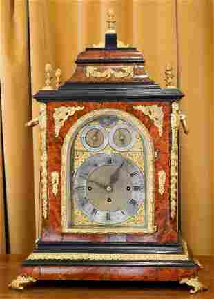 Victorian Musical Bracket Clock, 28 3/4 x 20 1/8 x 13.