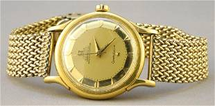 1950's Gold Omega Constellation with PiePie-Pan Dial.