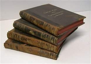 """Four volumes, """"Great Men & Famous Women""""."""
