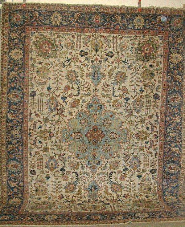 "199: Persian carpet, approx. 9' x 12'2"", sign"
