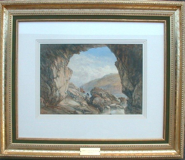 "1024: Watercolour signed J. G. Philp, 13 1/2"""