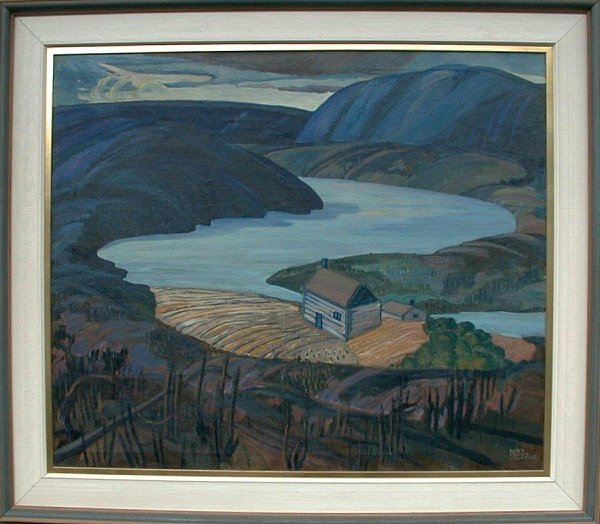 1086: Oil Painting on canvas signed Rody Kenn