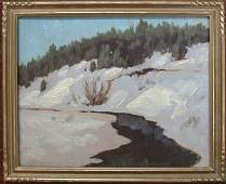 Oil painting on board attributed to Fra