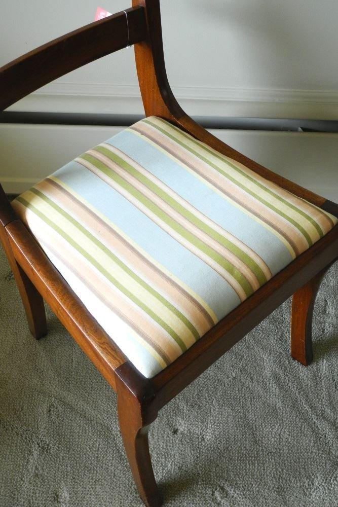 Sabre leg Mahogany Side Chair. - 2