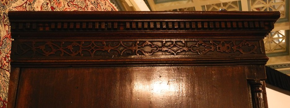 Large Mahogany Chest on Chest, on heavy claw and ball - 10