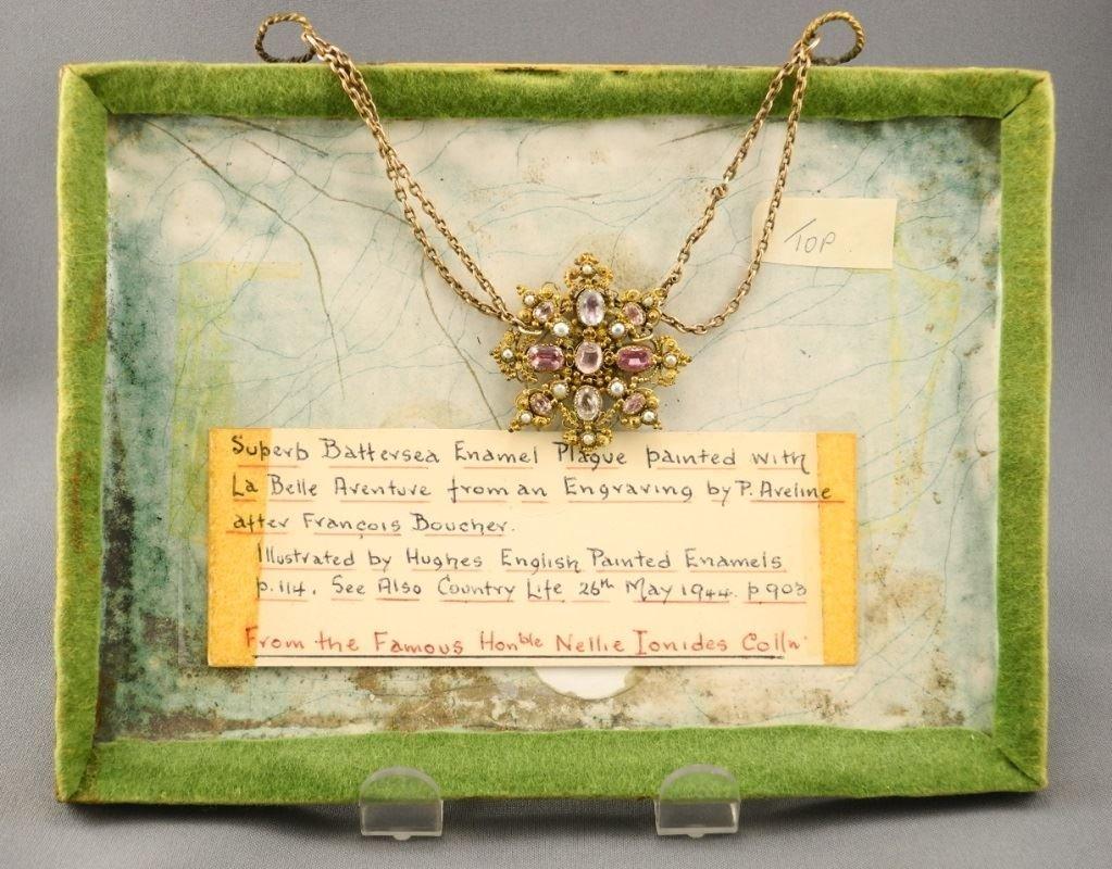 """Fine """"Battersea"""" enamel plaque La Belle Aventure, 5 - 4"""